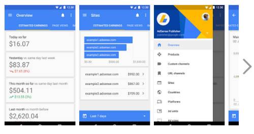تحميل تطبيق جوجل ادسنس للاندرويد