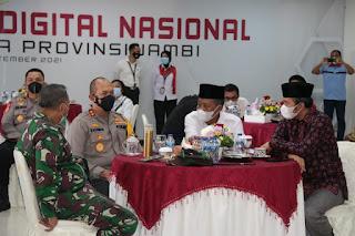 Wakil Gubernur Jambi Menghadiri Launching ASAP Digital Secara Virtual