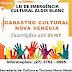 Nova Venécia realiza hoje(30) encontro online sobre Lei de Emergência Cultural Aldir Blanc