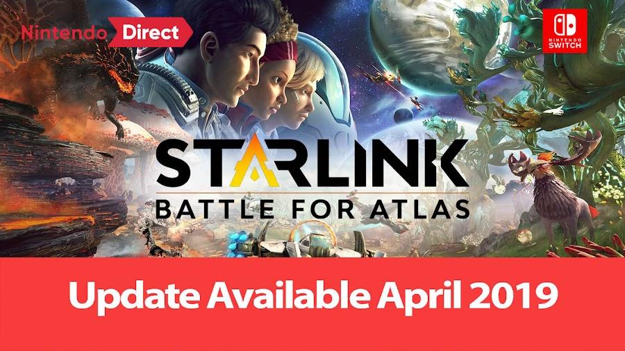starlink battle for atlas update nintendo switch direct 2019