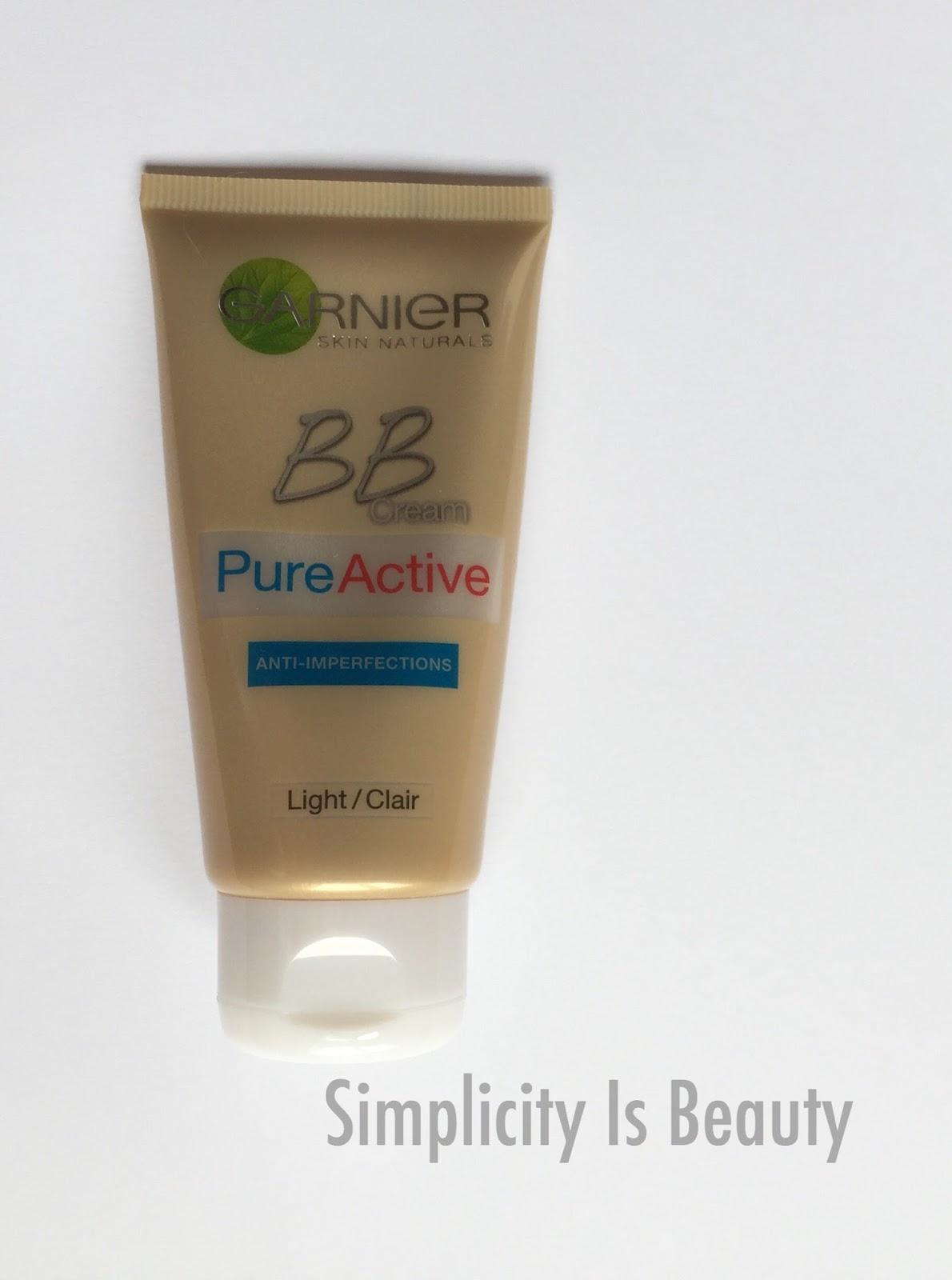 Hanae Beauty رييفيو بي بي كريم غارنييه بيور اكتيف Garnier Bb Cream Pure Active
