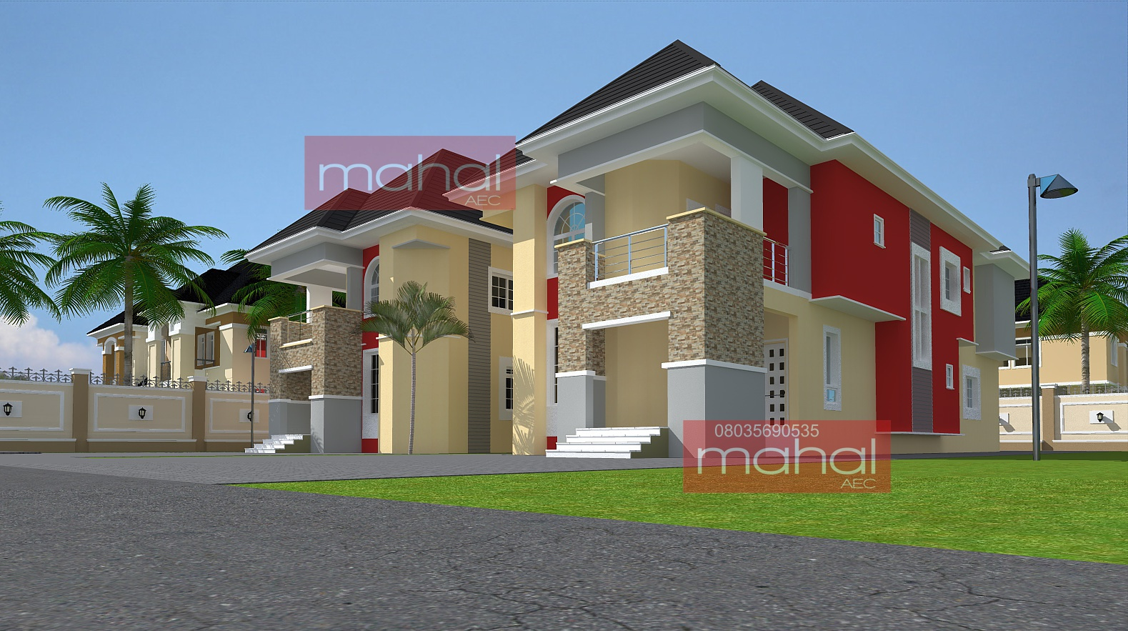Contemporary Nigerian Residential Architecture Luxury 3: Contemporary Nigerian Residential Architecture: Ehi House