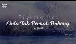 Lirik Dan Chord Prilly Latuconsina - Cinta Tak Pernah Bohong (Ost. BMBP)