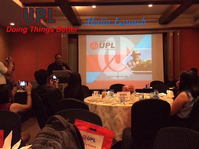 May 11, 2017 evening, I attended  UPL's bloggers' conference which was held at the Holiday Inn
