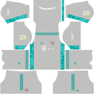 Bayern Munich - Dream League Soccer 2021 Forma Kits & Logo