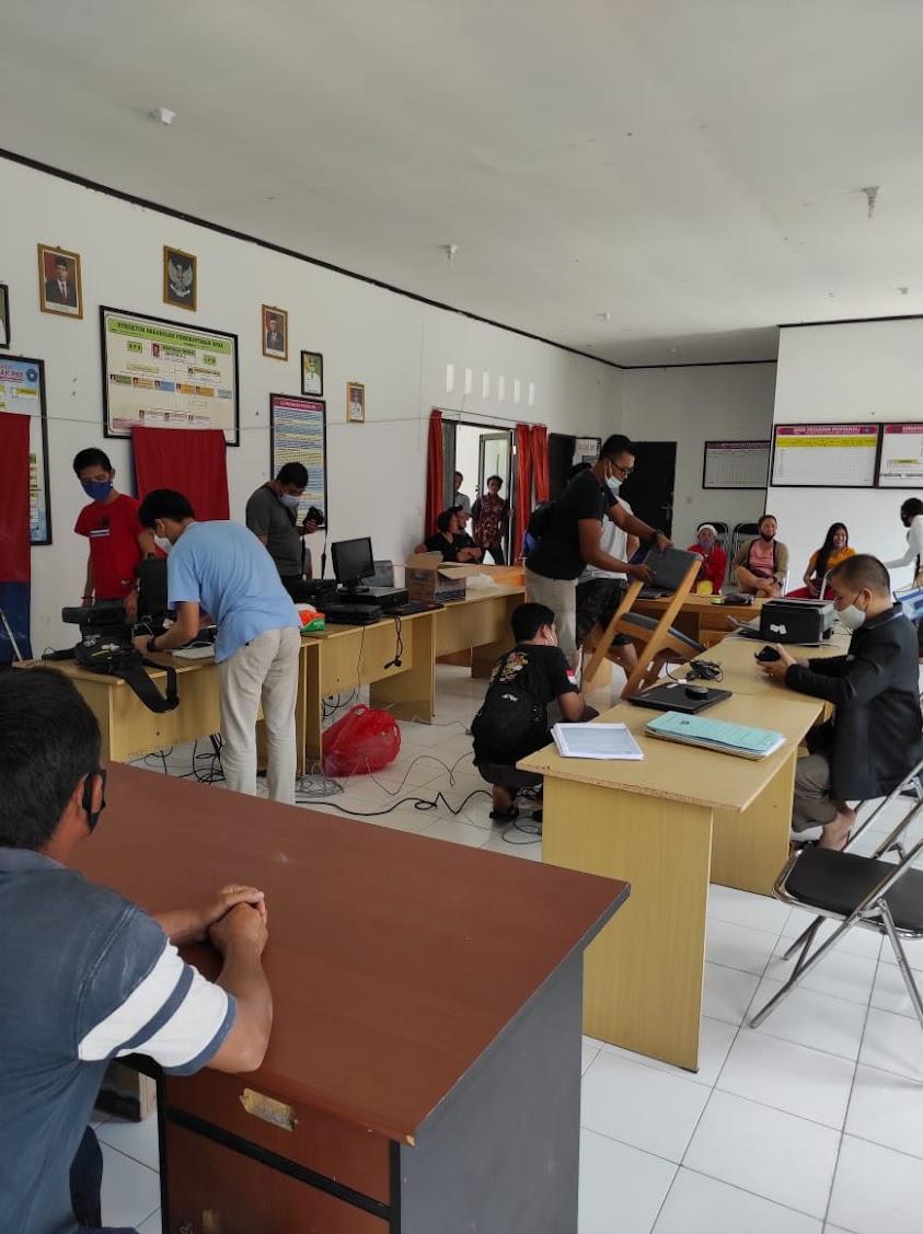 Cuti Bersama, Kantor Dukcapil Kapuas Tetap Buka Pelayanan Hingga Ke Desa