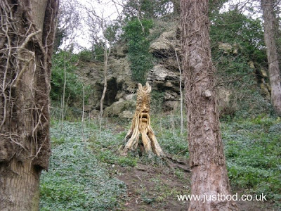 Wood sculpture by Tommy Craggs Knaresborough