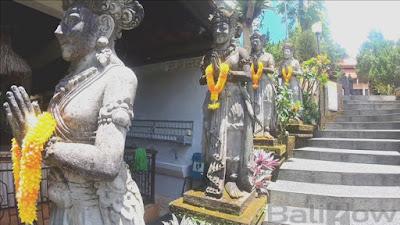 Statue in Vihara Dharma Bali