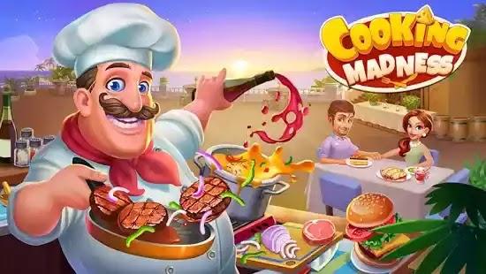 Cooking Madness إنها لعبة إدارة الوقت التي تسبب الإدمان بدرجة كبيرة هذا العام والتي ستجلب لك أفضل تجربة طهي رقمية!