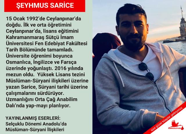 Yazar Şeyhmus Sarice