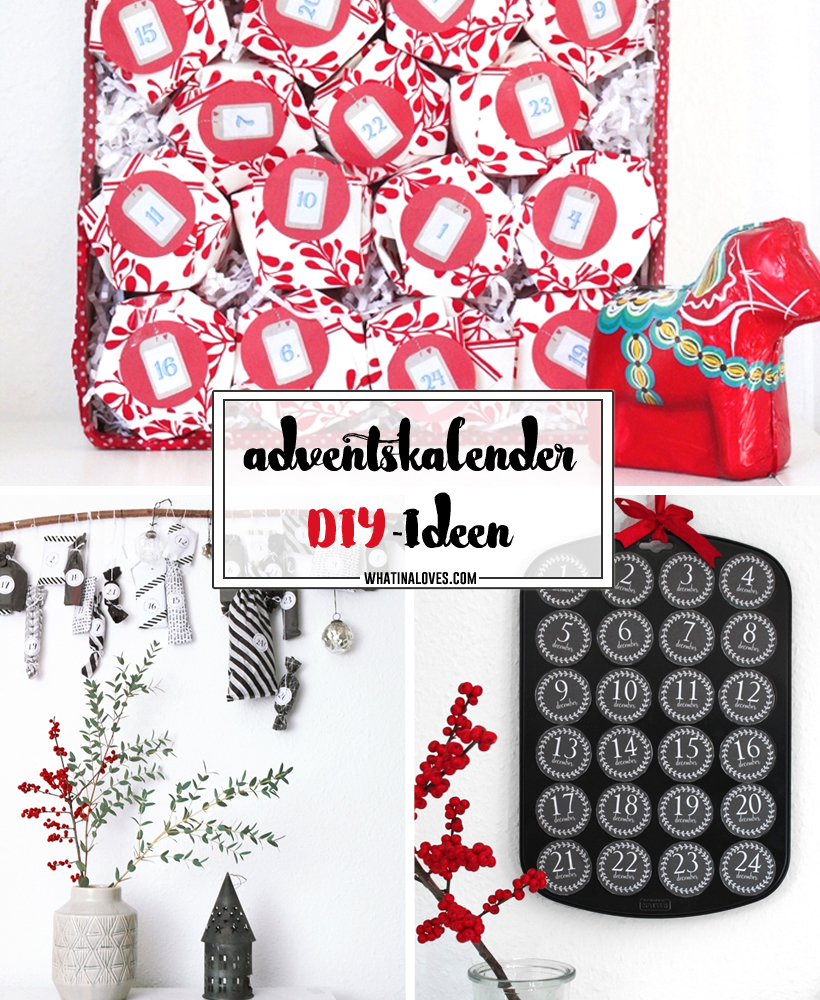 DIY Adventskalender Ideen | whatinaloves.com