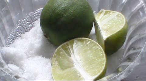 Jeruk nipis dan garam