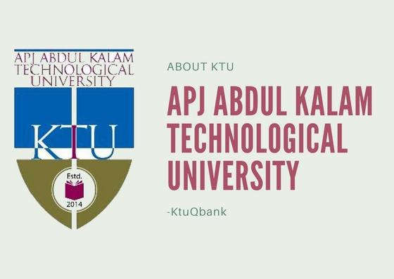 APJ Abdul Kalam Technological University – (KTU)