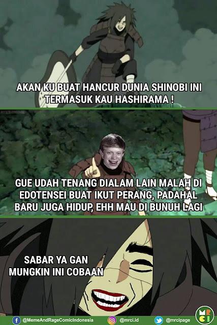 9 Komik 'Madara Naruto' Bareng Tokoh Meme Ini Kocaknya Nggak Ketulungan