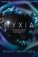 Nyxia by Scott Reintgen book cover and review