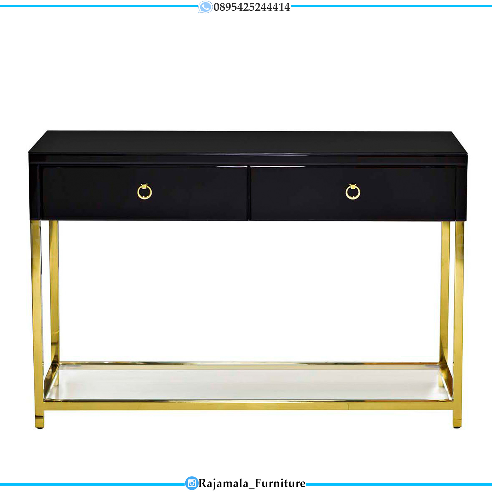 Desain Meja Konsul Minimalis Terbaru Stainless Steal Luxury Color RM-0287