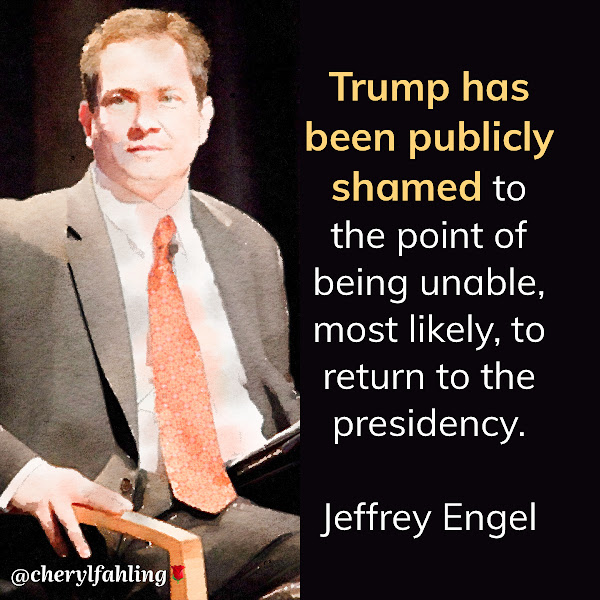 Trump has been publicly shamed to the point of being unable, most likely, to return to the presidency. — Jeffrey Engel, founding director of the Center for Presidential History at Southern Methodist University and a co-author of 'Impeachment: An American History'