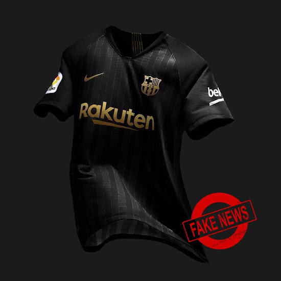 best service af311 c9308 FAKE! Barcelona 18-19 Third Kit