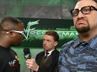 WWE / WWF Wrestlemania 2000 - Michael Cole interviewed The Dudleys