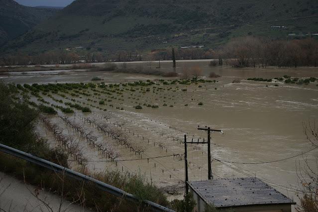 Θεσπρωτία: Ανησυχία για πλημμυρικά φαινόμενα