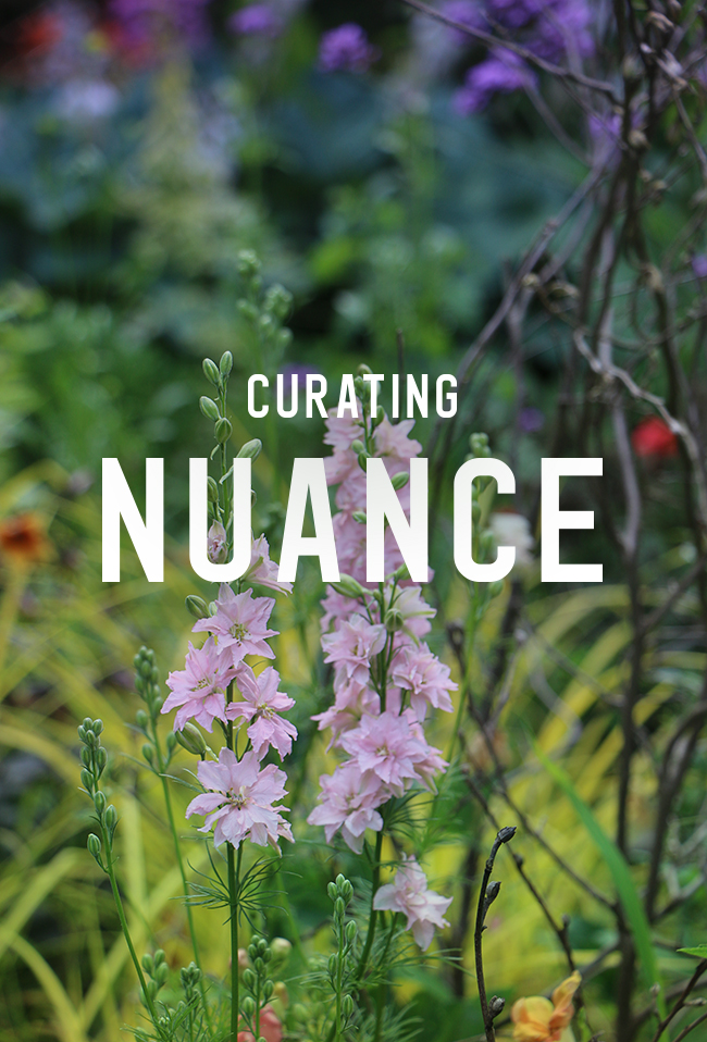 It s Just Art. Curating Botanic Harmony and Some Common Sense Gardening