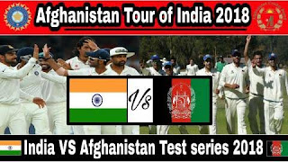 India vs Afghanistan only test match