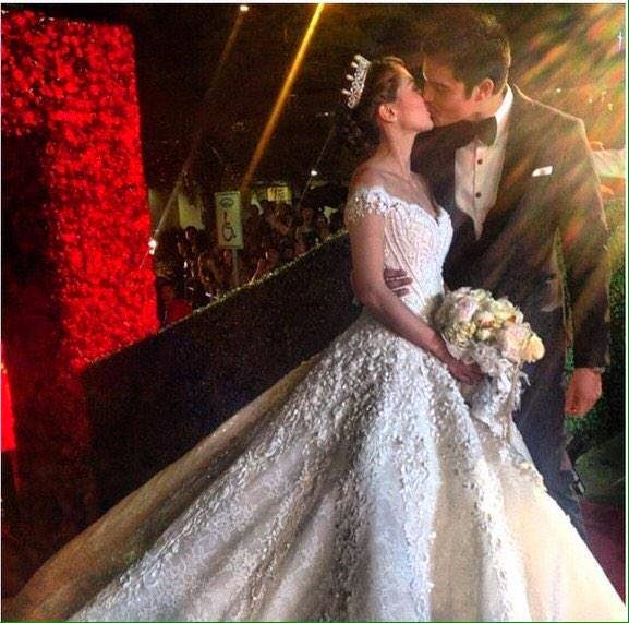 marian rivera and ding dong dantes kiss