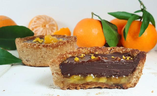 TARTELETTES CLEMENTINES/CHOCOLAT NOIR