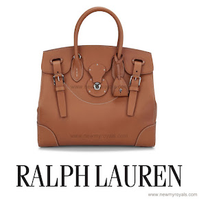 Crown Princess Mary carried Ralph Lauren Satchel Bag