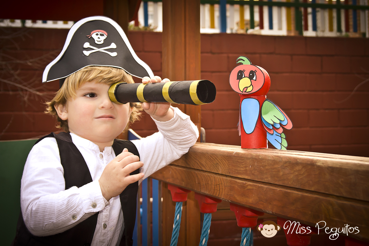diy disfraz casero pirata costume pirate