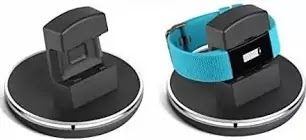 Fitbit Charge 2 Charger, EPULY for Fitbit Charge 2 Accessories Charging Stand Dock Station Holder Cradle with 3 Feet Charging USB Cable for Fitbit Charge 2 Smart Watch Black