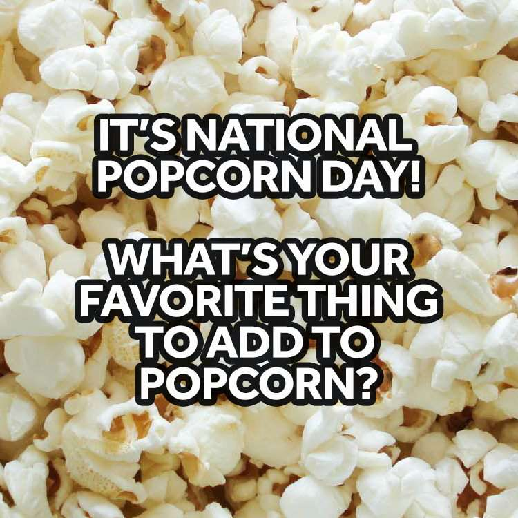 National Popcorn Day Wishes Unique Image