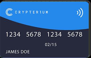 بطاقة Crypterium