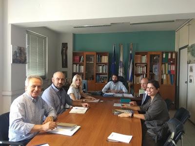 Αποτέλεσμα εικόνας για Με τον Αναπληρωτή Αντιπρόσωπο  της Ύπατης Αρμοστείας συναντήθηκε  ο Δήμαρχος Λεβαδέων Γ. Ταγκαλέγκας