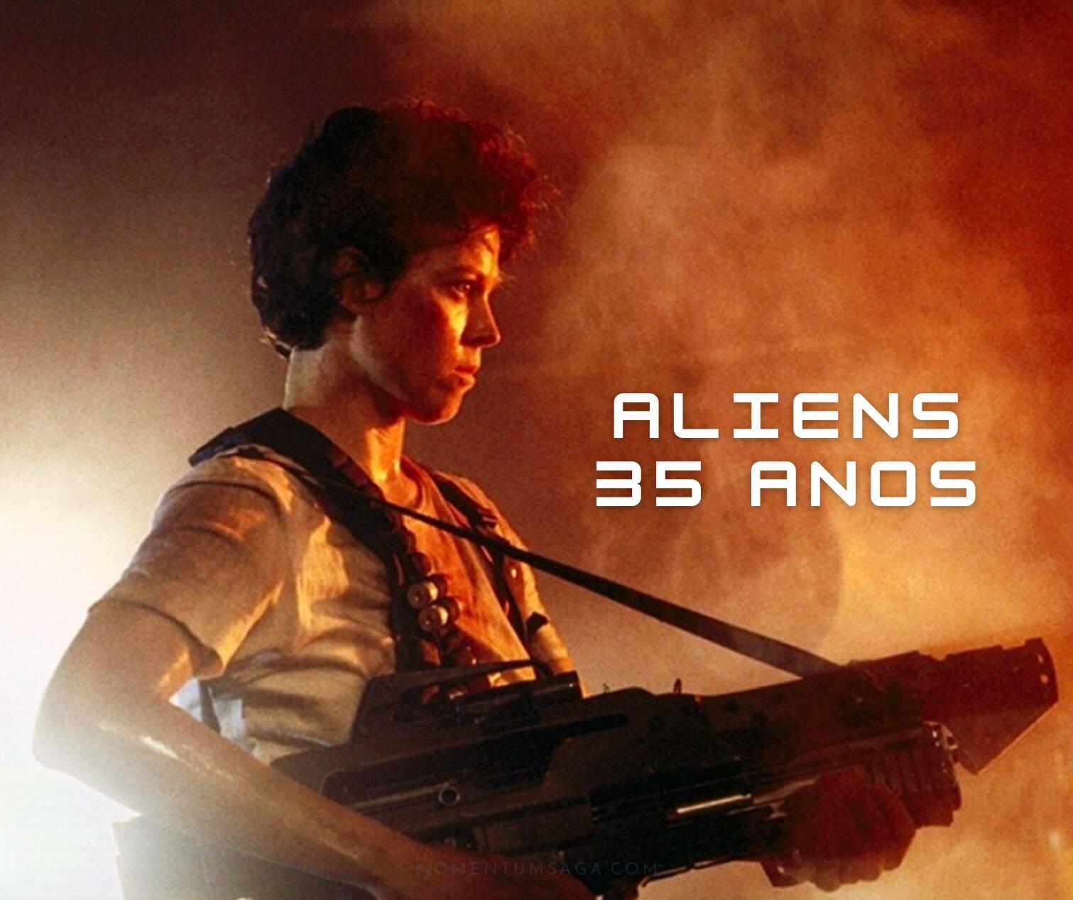 35 anos de Aliens, o Resgate