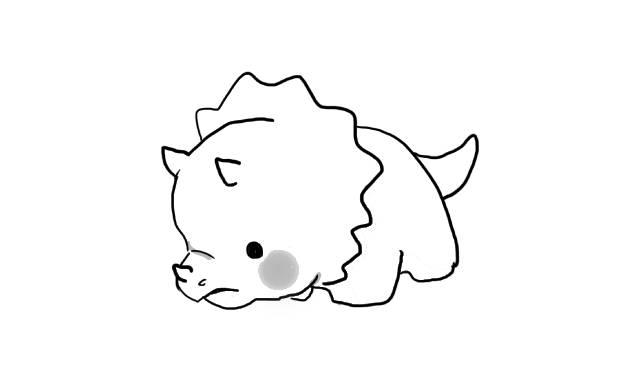 imagenes dinosaurios kawaii dibujar