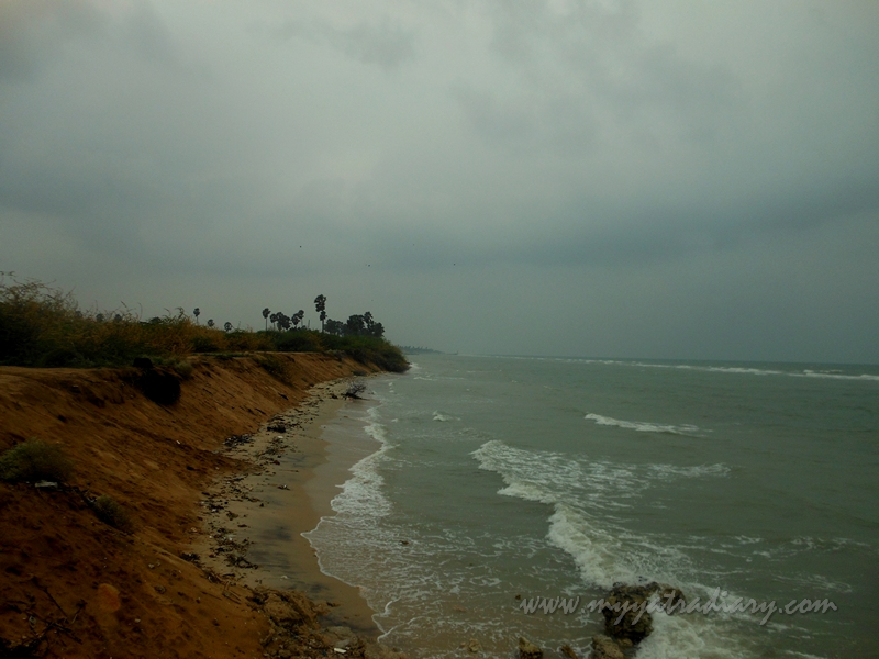 Sideways glance of Villondi Teertham, Rameshwaram