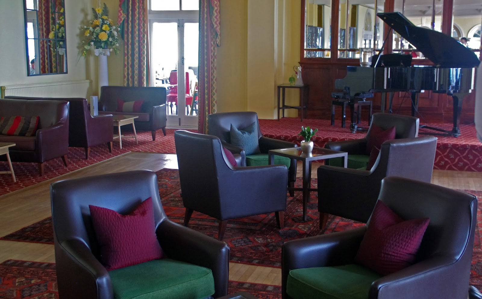 Headland Hotel Newquay Cornwall Interior