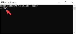 Cara Mengunci Folder Dengan Notepad Gambar 6
