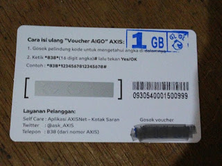 Voucher Axis 1 GB
