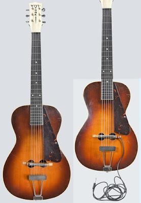 Đàn guitar điện đầu tiên ra đời vào năm 1933