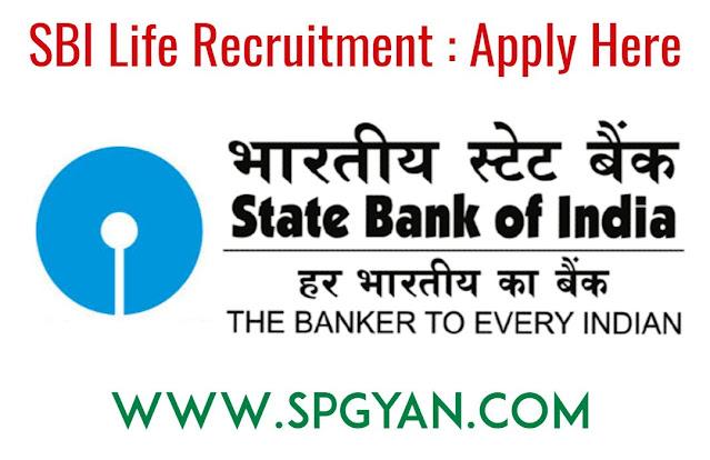 SBI Life Vacancy