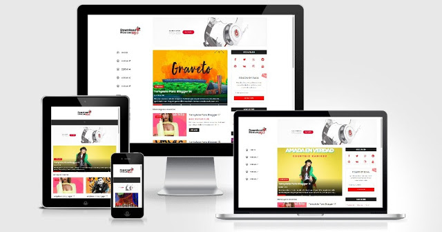 Template Blogger Download Músicas Mp3