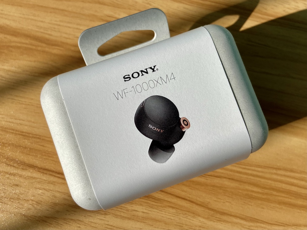 Sony WF-1000XM4 Packaging