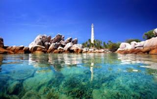 Pulau Lengkuas Tempat Wisata di Belitung