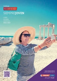 Viajes Mayores catálogo Eroski Viajes 2019