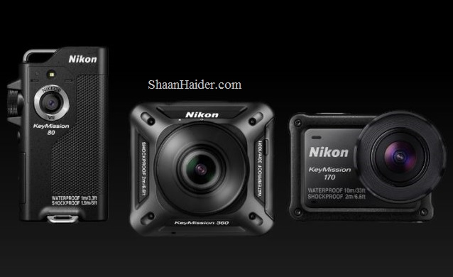 Nikon KeyMission 170 and KeyMission 80 : Full Hardware Specs, Features, Price and Availability