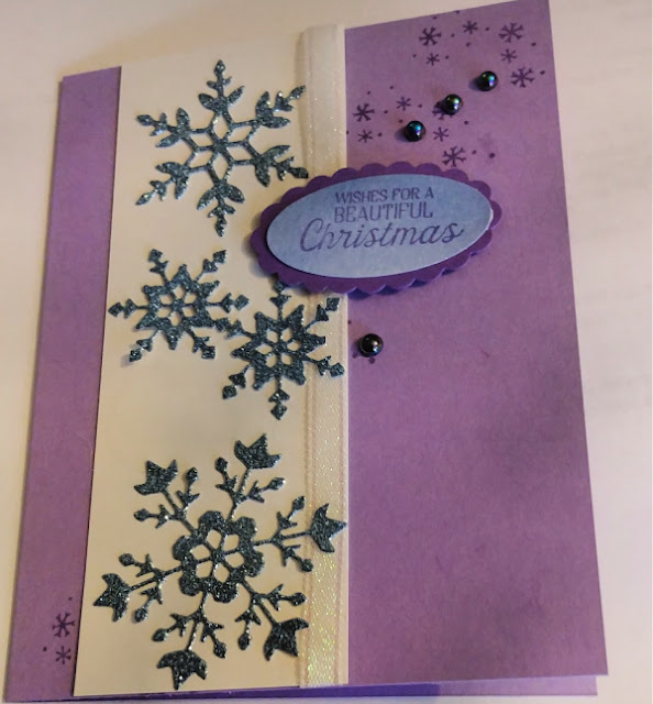 snowflakes, balmy blue glimmer paper, stampin' up!, nicole steele, independent stampin' up! demonstrator, the joyful stamper, pittsburgh pa