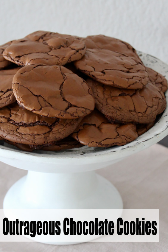 Best Outrageous Chocolate Cookies