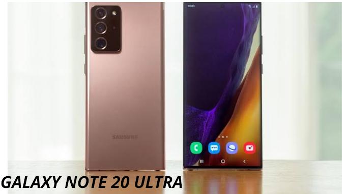 Samsung Galaxy Note 20 Ultra 2020